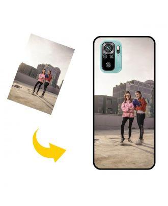 Спеціальний Xiaomi Redmi Note 10 чохол для телефону з власними фотографіями, текстами, дизайном тощо.