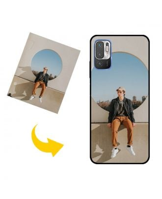 Customized Xiaomi Redmi Note 10 5G Phone Case with Your Photos, Texts, Design, etc.