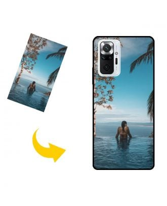 Custom Xiaomi Redmi Note 10 Pro Max Phone Case with Your Own Photos, Texts, Design, etc.
