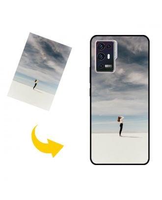 Custodia per telefono ZTE Axon 30 Pro 5G personalizzata con foto, testi, design e così via.