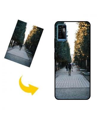 Custodia per telefono ZTE Blade 11 Prime personalizzata con foto, testi, design e così via.