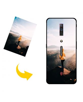 Personalized ZTE nubia Red Magic 6 Pro Phone Case with Your Photos, Texts, Design, etc.