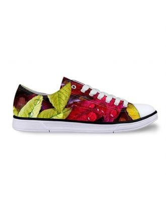 Design Your Own Custom Shoes | Women's Low-Top Canvas Sneakers