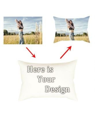 "Personalized Pillow Case - 16"" x 24"" - One Side Printing"