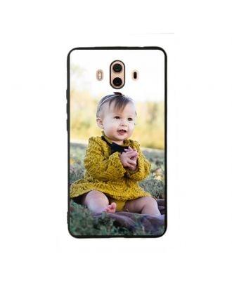Ốp lưng điện thoại mềm HUAWEI Mate 10 màu đen tùy chỉnh với thiết kế, hình ảnh, nội dung, v.v.