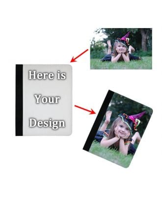 Custom Made iPad Mini 1 / 2 / 3 Black Leather Case with Your Own Photos, Texts, Design, etc.