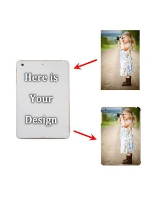 Personalized iPad Mini 1 /2 / 3 White Full Printed Hard Case with Your Photos, Texts, Design, etc.