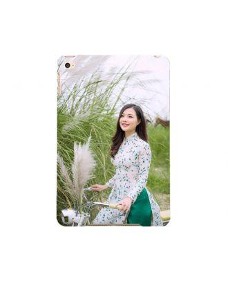 Custom iPad Mini 4 White Full Printed Hard Case with Your Own Photos, Texts, Design, etc.