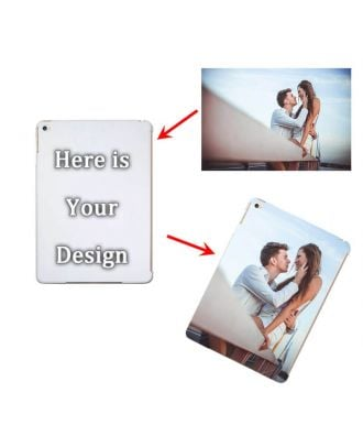 Custom iPad Air 2 White Full Printed Hard Case with Your Own Photos, Texts, Design, etc.