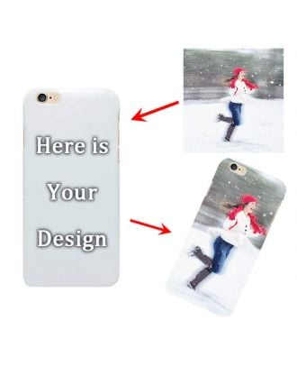 Custom Made iPhone 6 / 6S White Full Printed Hard Phone Case with Your Photos, Texts, Design, etc.