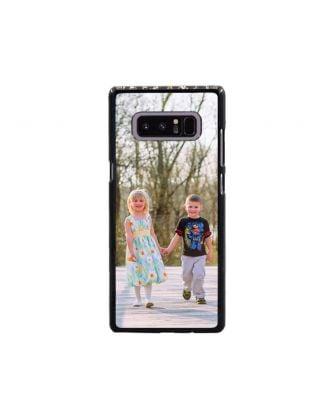 Customized Samsung Galaxy Note 8 White / Black Hard Phone Case with Your Own Photos, Texts, Design, etc.