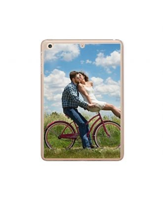 Personalized iPad Mini 1 /2 / 3 Transparent Hard Case with Your Own Design, Photos, Texts, etc.