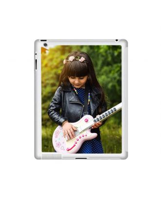 Customized iPad 2 / 3 / 4 Transparent Hard Case with Your Own Photos, Texts, Design, etc.