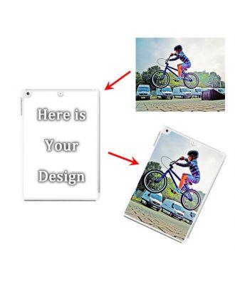 Custom Made iPad Air 1 Transparent Hard Case with Your Own Design, Photos, Texts, etc.