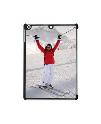 Custom iPad Air 1 White / Black Hard Case with Your Own Design, Photos, Texts, etc.