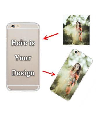 Customized Semi-transparent matte soft Case for iPhone 6 Plus or 6S Plus