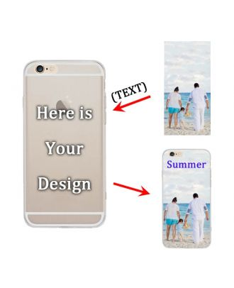 Custom Matte Soft Case for iPhone 6 / 6S - Semi-transparent