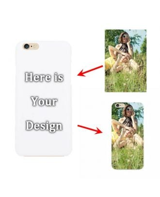 Personalized iPhone 6 / 6S White Hard Phone Case with Your Own Design, Photos, Texts, etc.