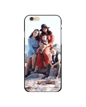 Custom iPhone 6 Plus / 6S Plus Black Hard Phone Case with Your Photos, Texts, Design, etc.
