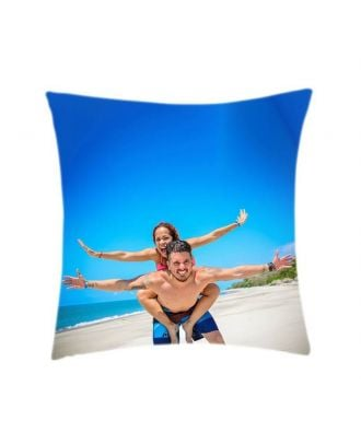 "Custom Throw Pillow - 16"" x 16"" - One Side Printing"
