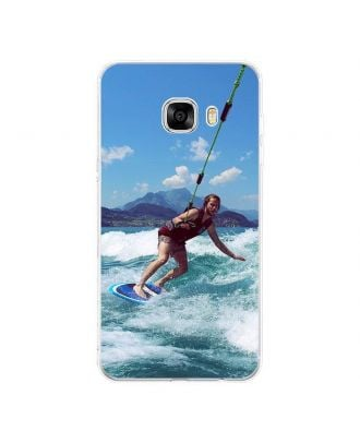 Personalised Hard Mobile Phone Case for Samsung Galaxy C7