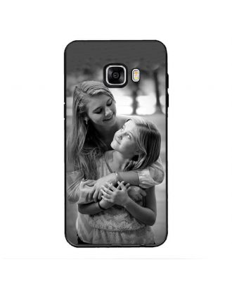 Personalized phone case with own photo and texts for Samsung Galaxy C5 Pro