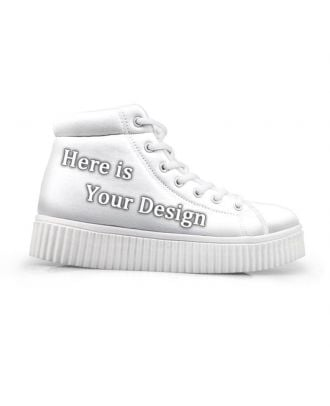 Design Your Own Custom Shoes | Women's High-Top Platform Shoes