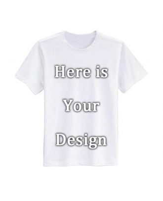 Custom Men's / Women's Modal T-Shirts - Four Sides Printing