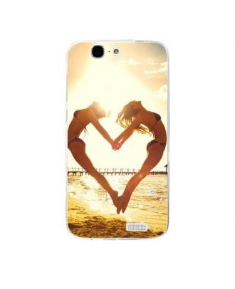 Personalized phone case with own photo and texts for HUAWEI G7