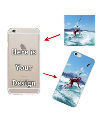 Custom Matte Hard Case for iPhone 6/6S - Semi-transparent