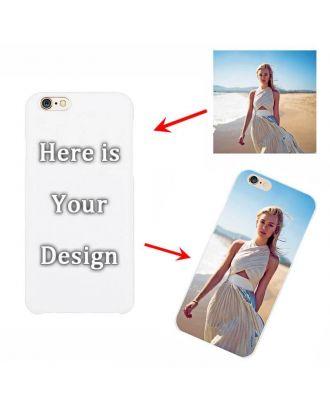 Custom Hard Case for iPhone 6 Plus/6S Plus -  White or Black