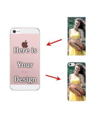Personalized Matte Hard Case for iPhone 5C | Semi-transparent