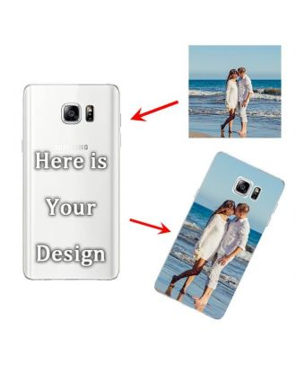 Personalised Soft Mobile Phone Case for Samsung Galaxy Note 5