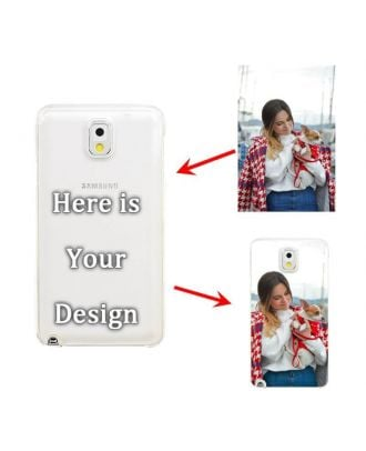 Personalised Hard Matte Mobile Phone Case for Samsung Galaxy Note 3
