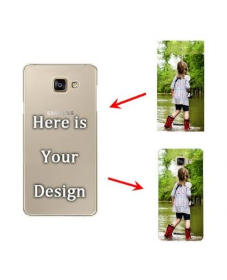 Personalised Hard Matte Phone Case for Samsung Galaxy A7 (2016)
