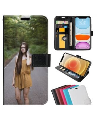 Custom Realme 8 Pro / Realme 8 Leather Flip Wallet Phone Case with Your Own Photos, Texts, Design, etc.